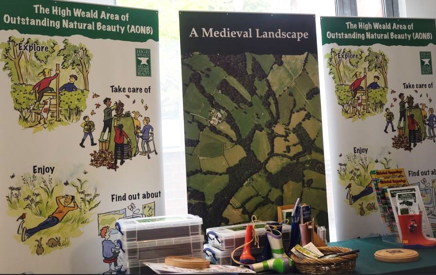 High Weald in the spotlight at national conference