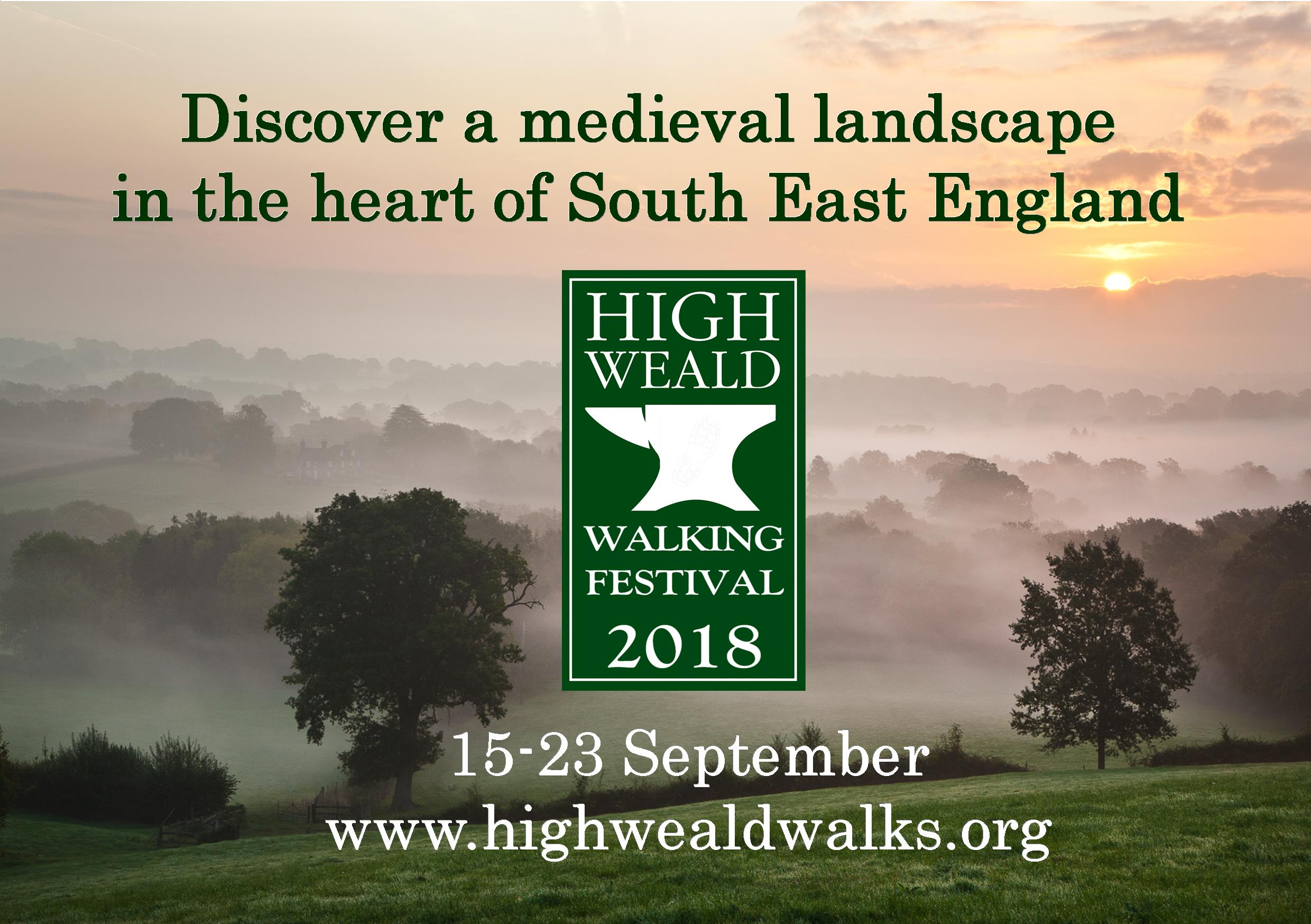 Sign up for new High Weald Walking Festival